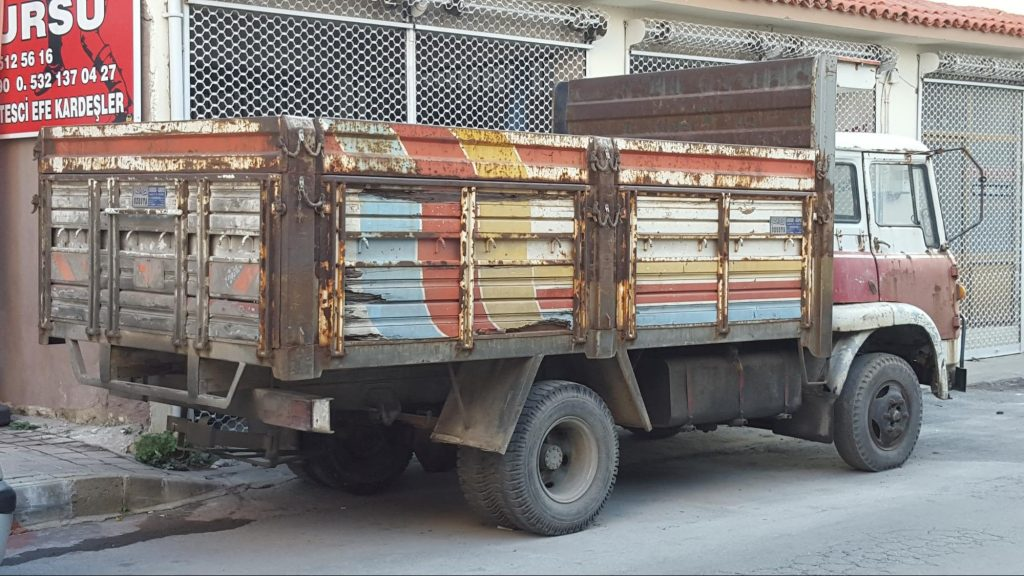 Truck in Soke, Turkey