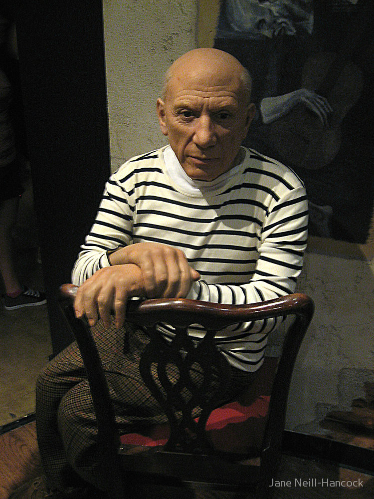 Picasso at Madame Tussaud's in New York